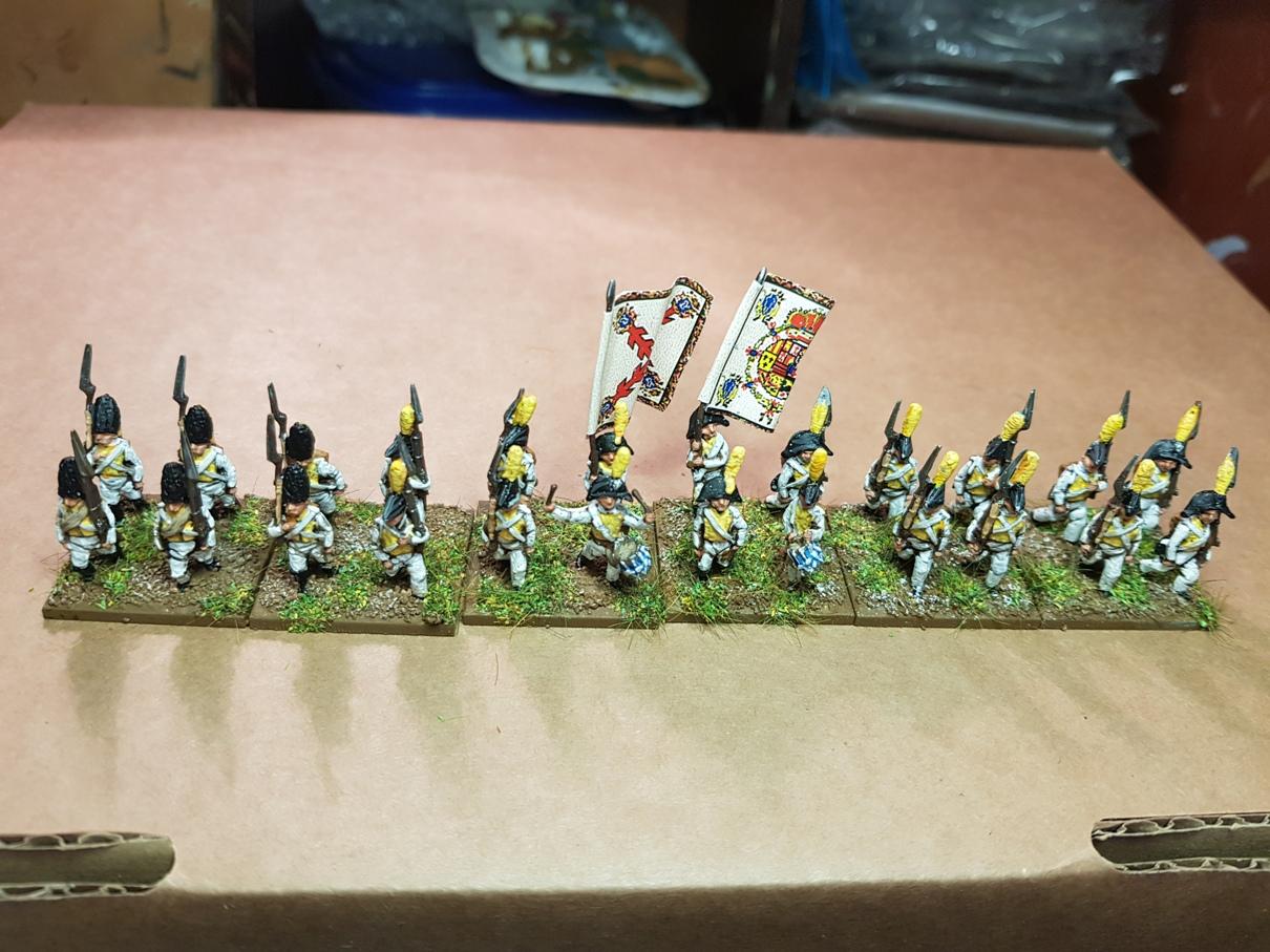 15mm Spanish Napoleonics from Sapper