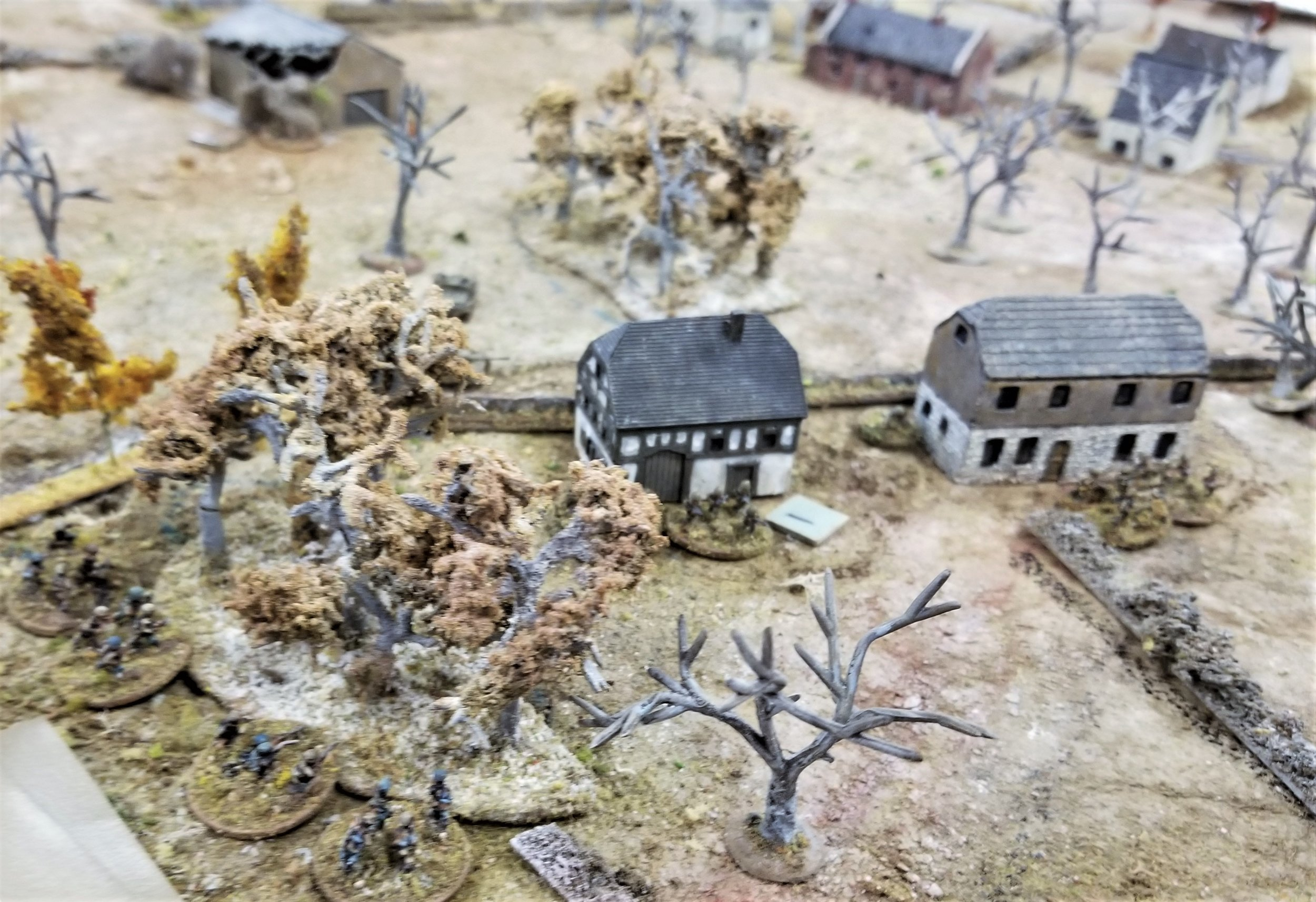 Combat on the west road