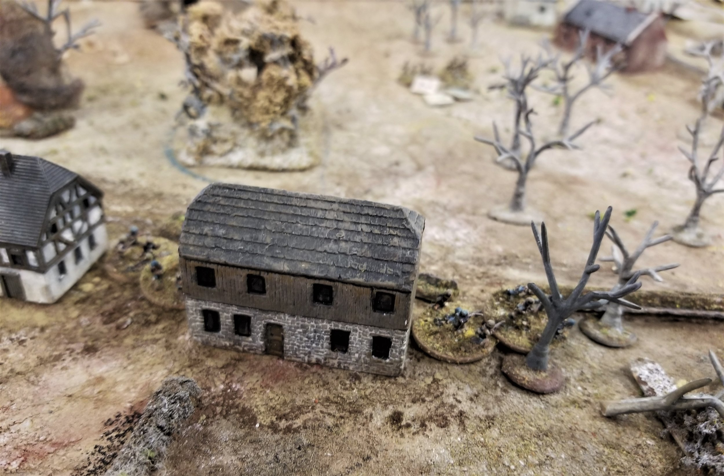 Houses overrun