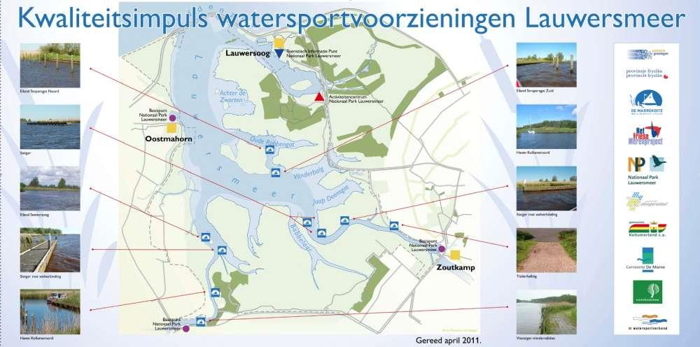 Watersportvoorzieningen Lauwersmeer is een sprekend voorbeeld van verzamelen, verbinden en verblijden.