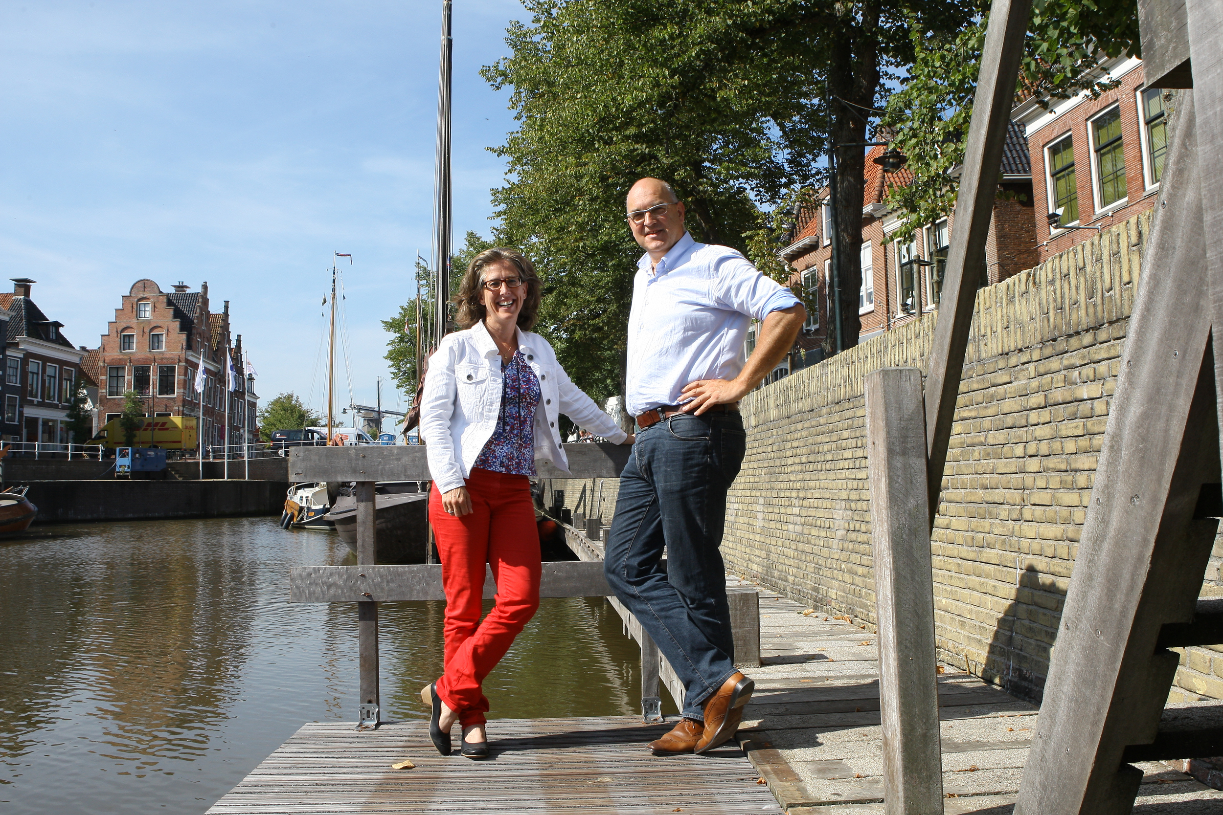 Samenwerking met Theo de Bruin bij de Organisatie Marketing en Gastheerschap in Noordoost Fryslân