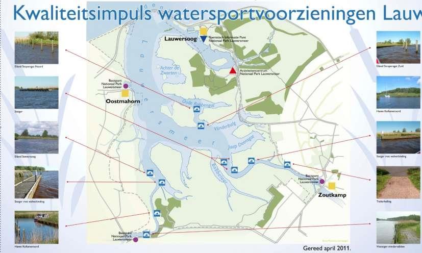 Watersportvoorzieningen Lauwersmeer