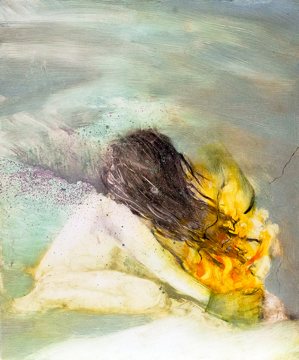 Suddenly, everything / 2012, oil on canvas - 50 x 61 cm