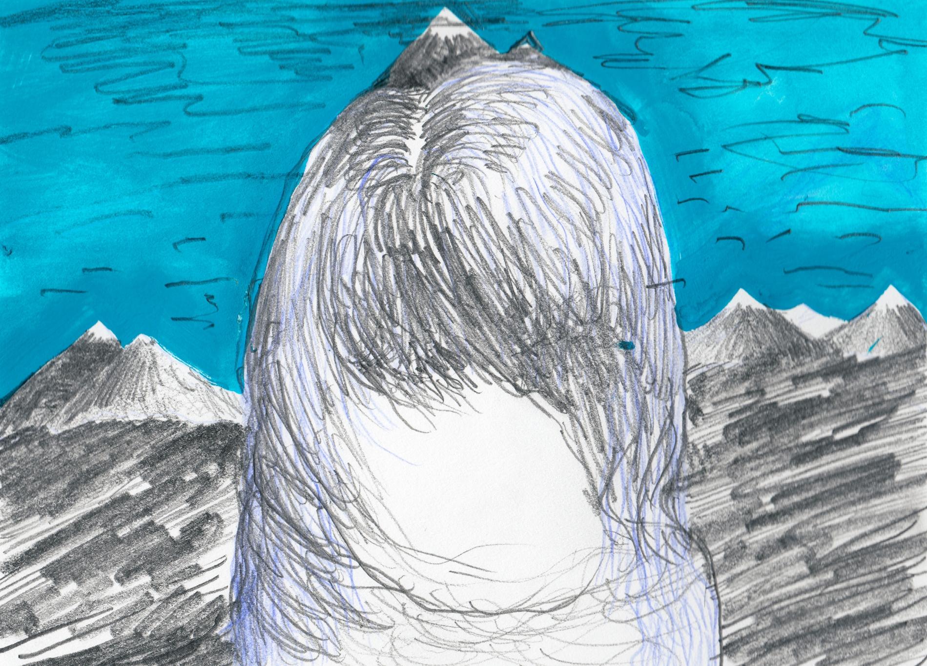 Far peaks / 2014, 22 x 15 cm