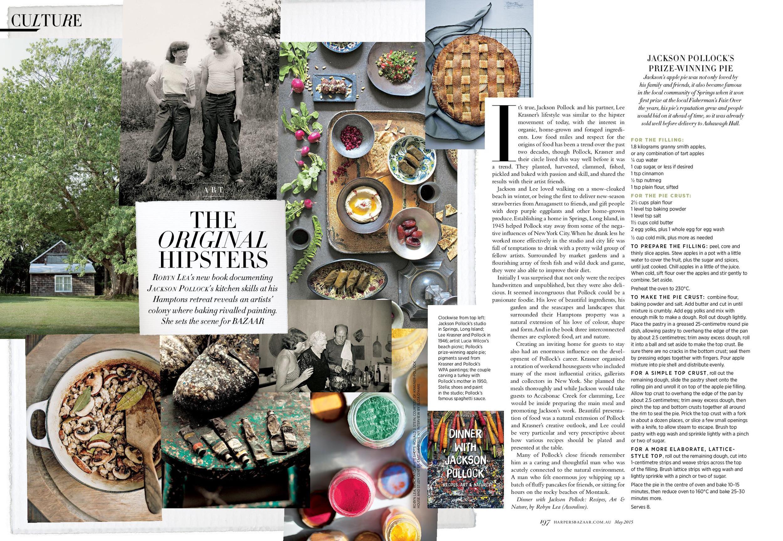 Harper's Bazaar Australia,April 2015