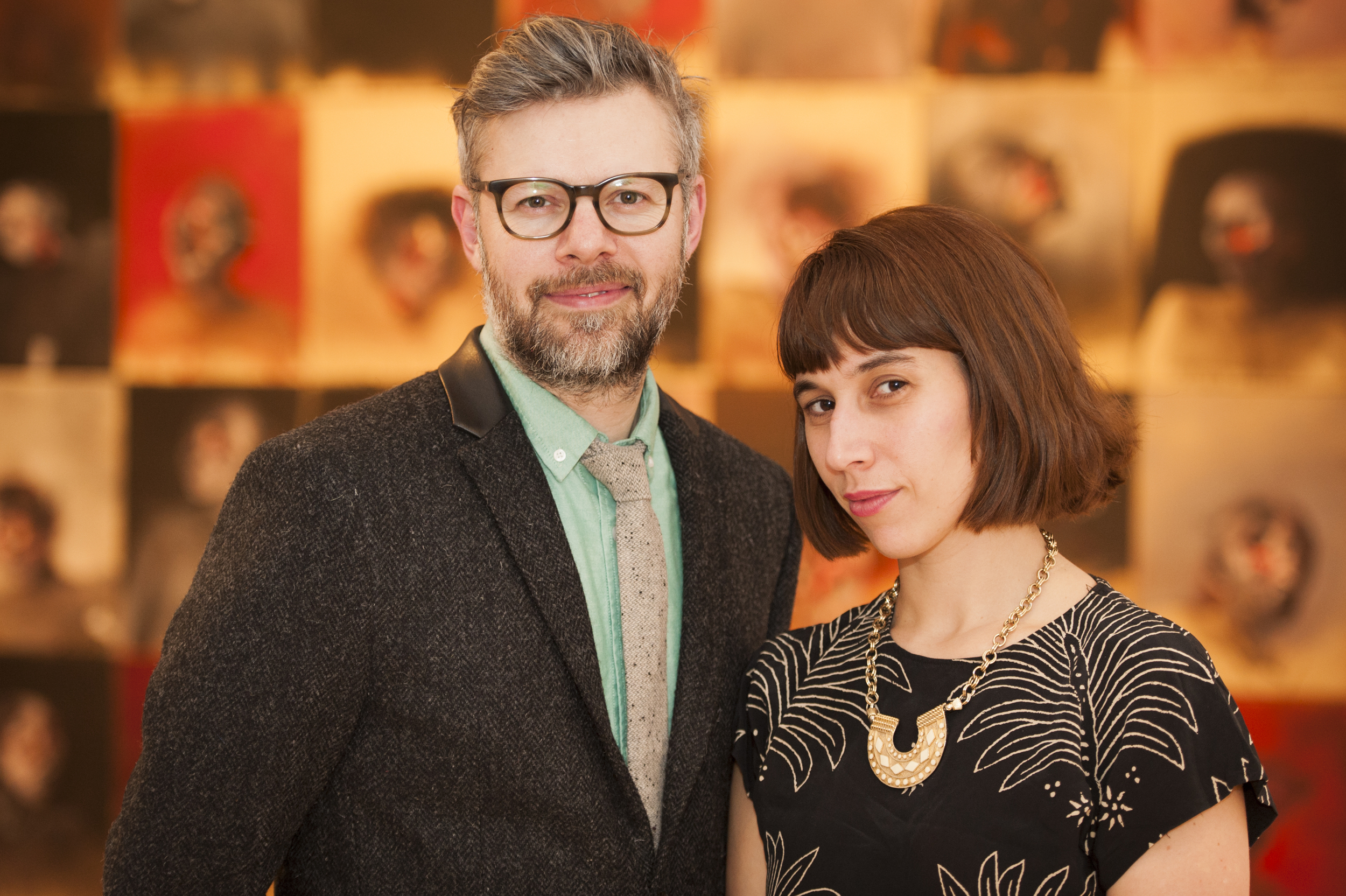 Pascal Desjardins and his partner at  La petite commission,  Roxanne Arsenault.