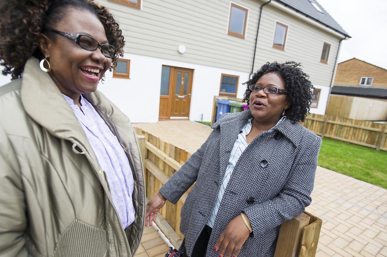 Home Partners Florence Obiaju and Joyce Msiska
