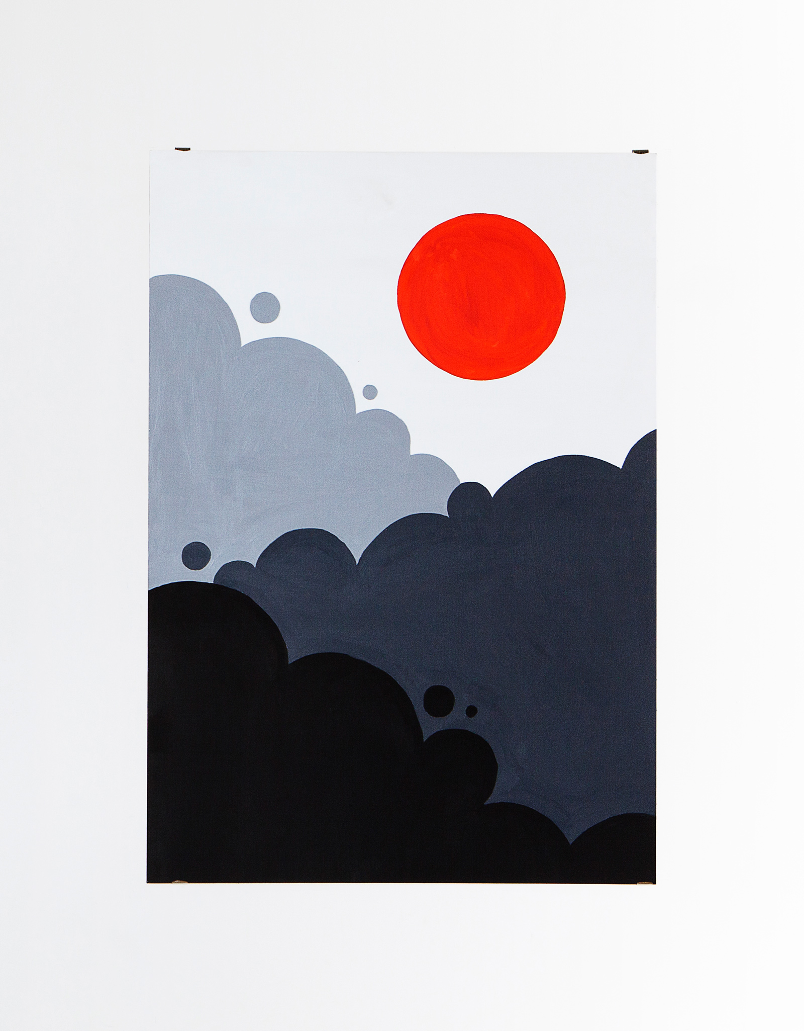 La Scighera    Acrylic on canvas, 70x100cm 2014