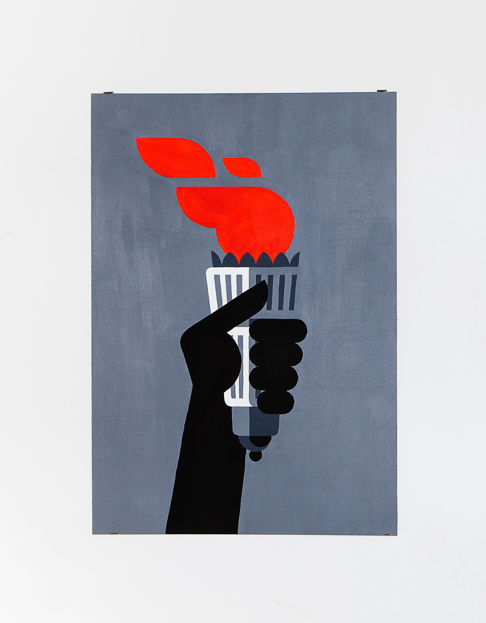 Torcia    Acrylic on canvas, 70x100cm 2014