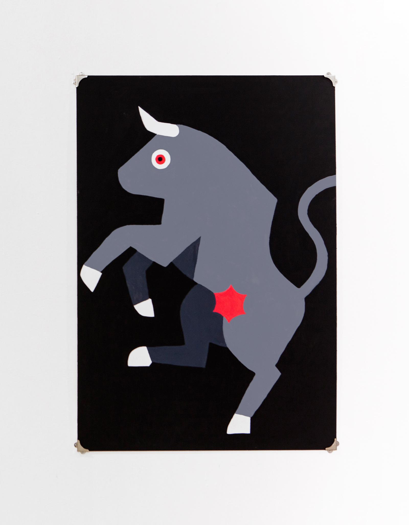 Toro    Acrylic on canvas, 70x100cm 2014
