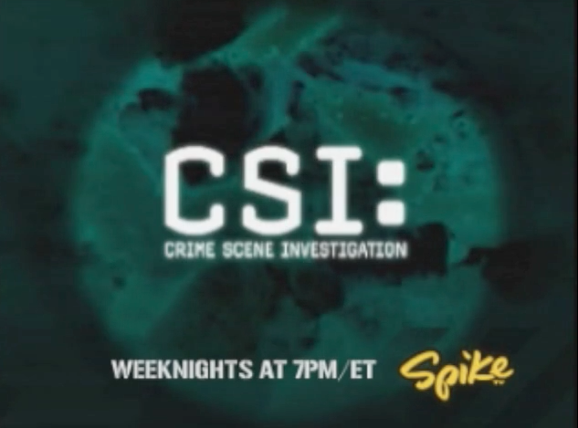 CSI on Spike TV
