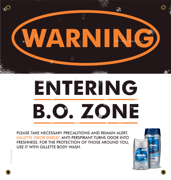 Gillette - Entering BO Zone