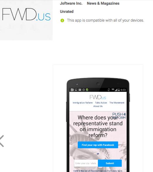 Fwd.US App