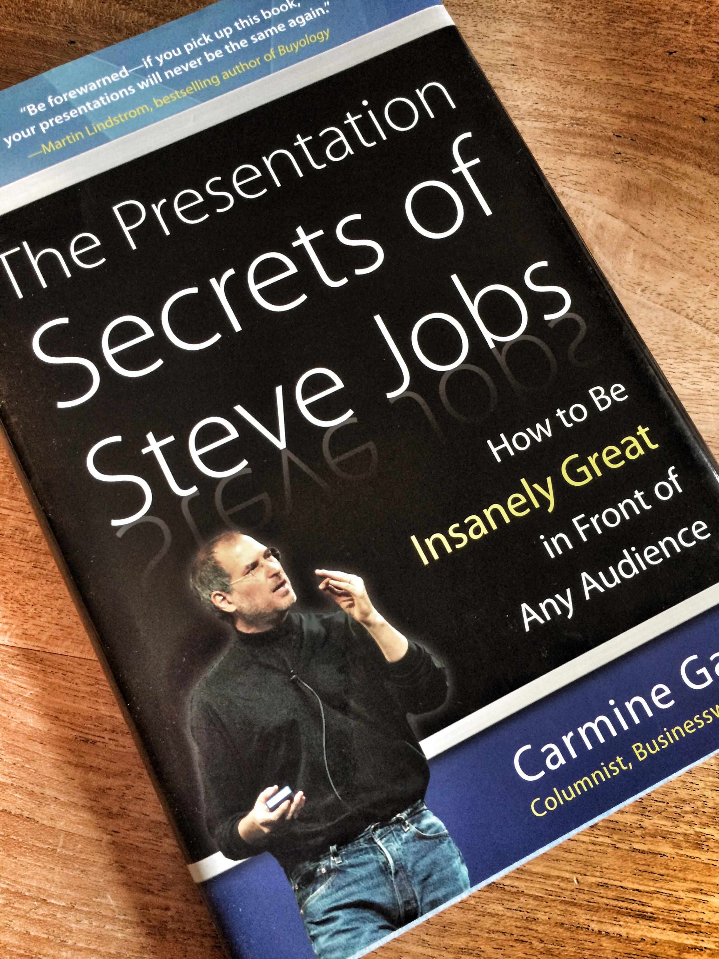 "Die hier genannten Tricks entstanden in Anlehnung an Carmine Gallos Bestseller "" The Presentation Secrets of Steve Steve Jobs""  (Foto: Andreas Wiehrdt)"