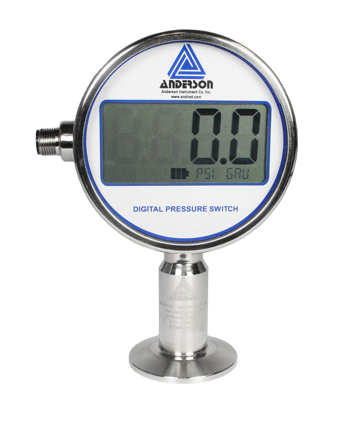 EN DIGITAL PRESSURE GAUGE/SWITCH