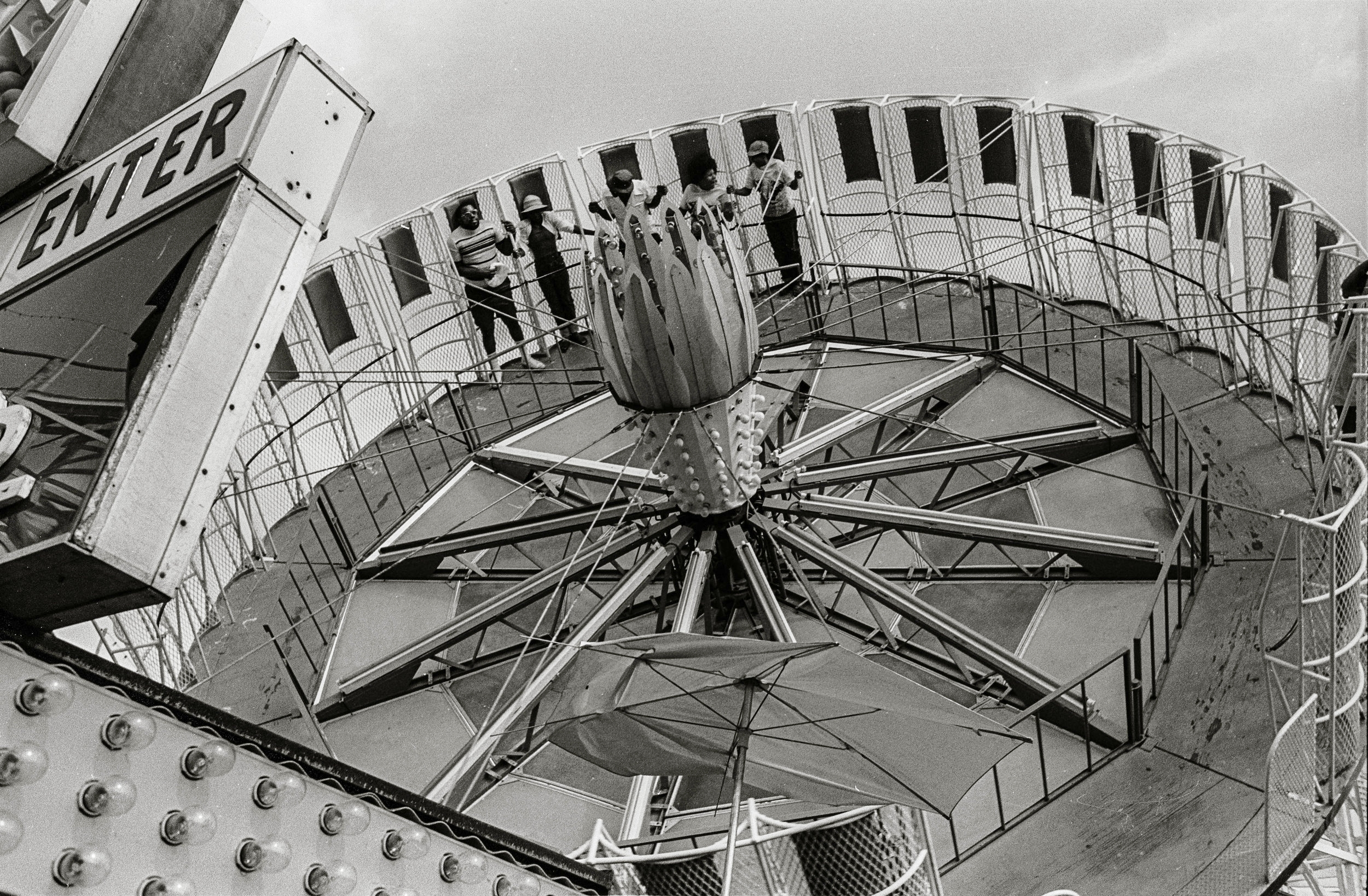 Amusement Ride, CT, 1973