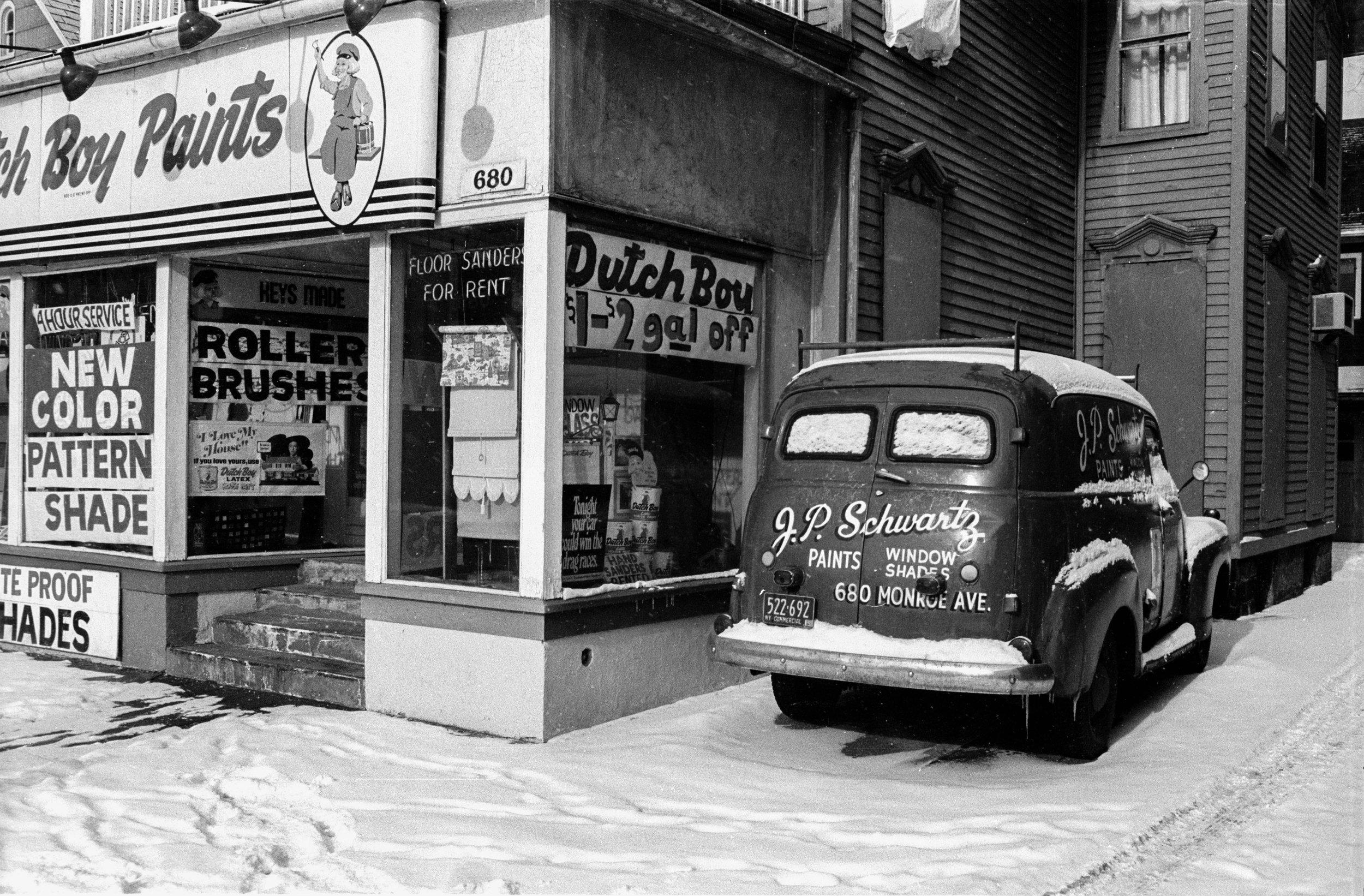 Monroe Avenue, Rochester, 1968