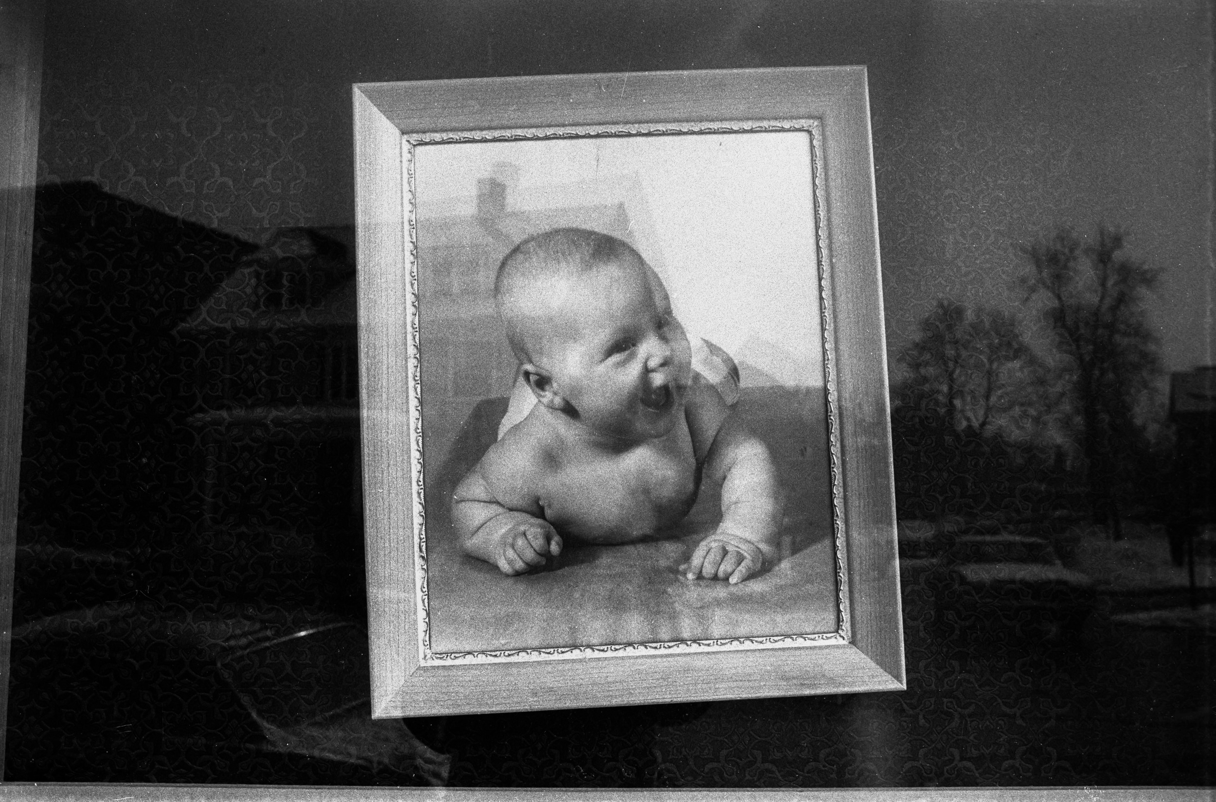 Self Portrait as Baby, Rochester, NY 1968