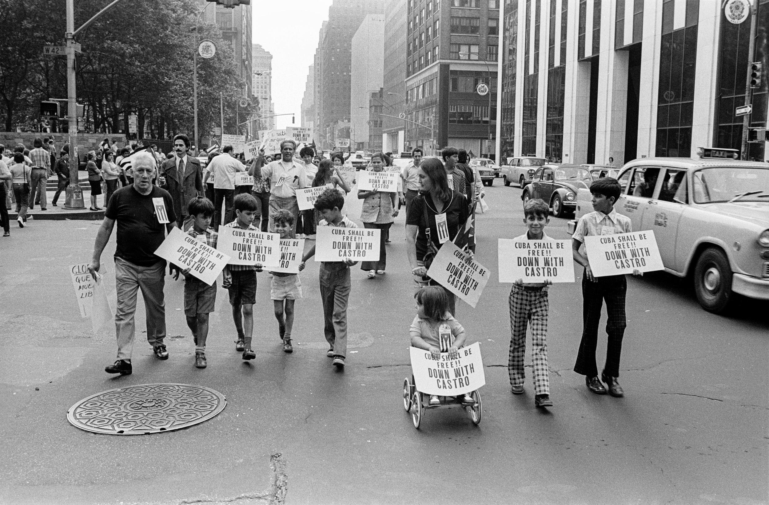Cuba Demonstration, 1975
