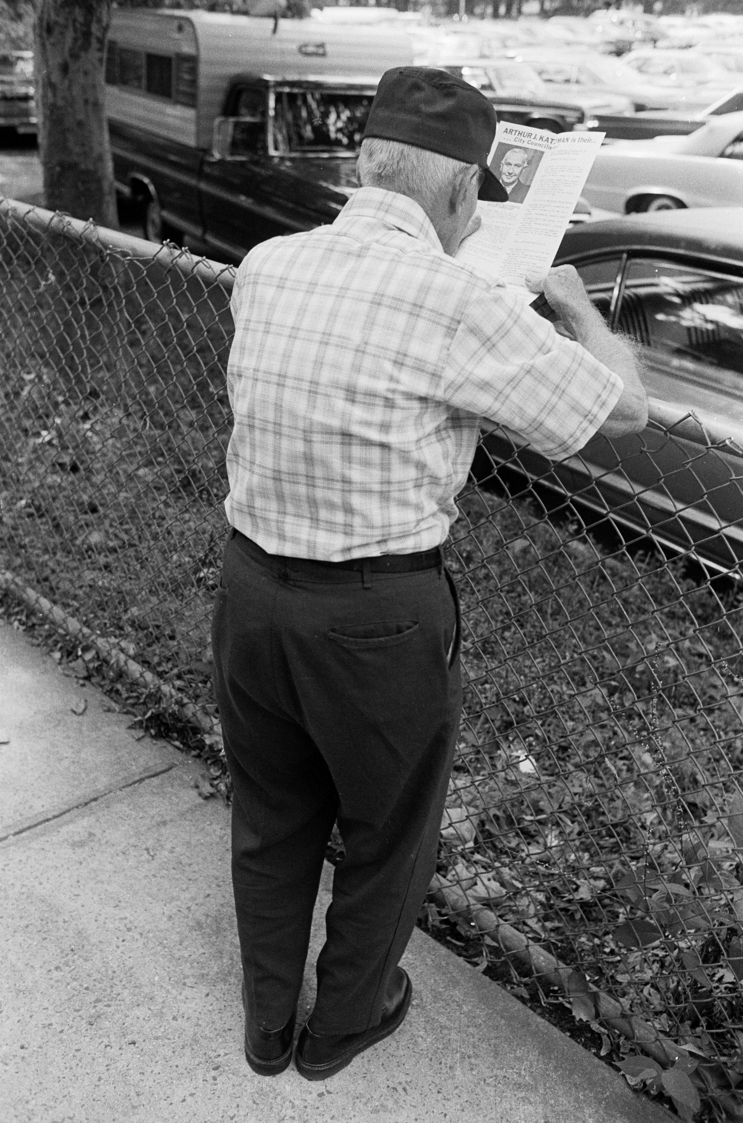 Arthur Katzman, City Council, Forest Park, 1975