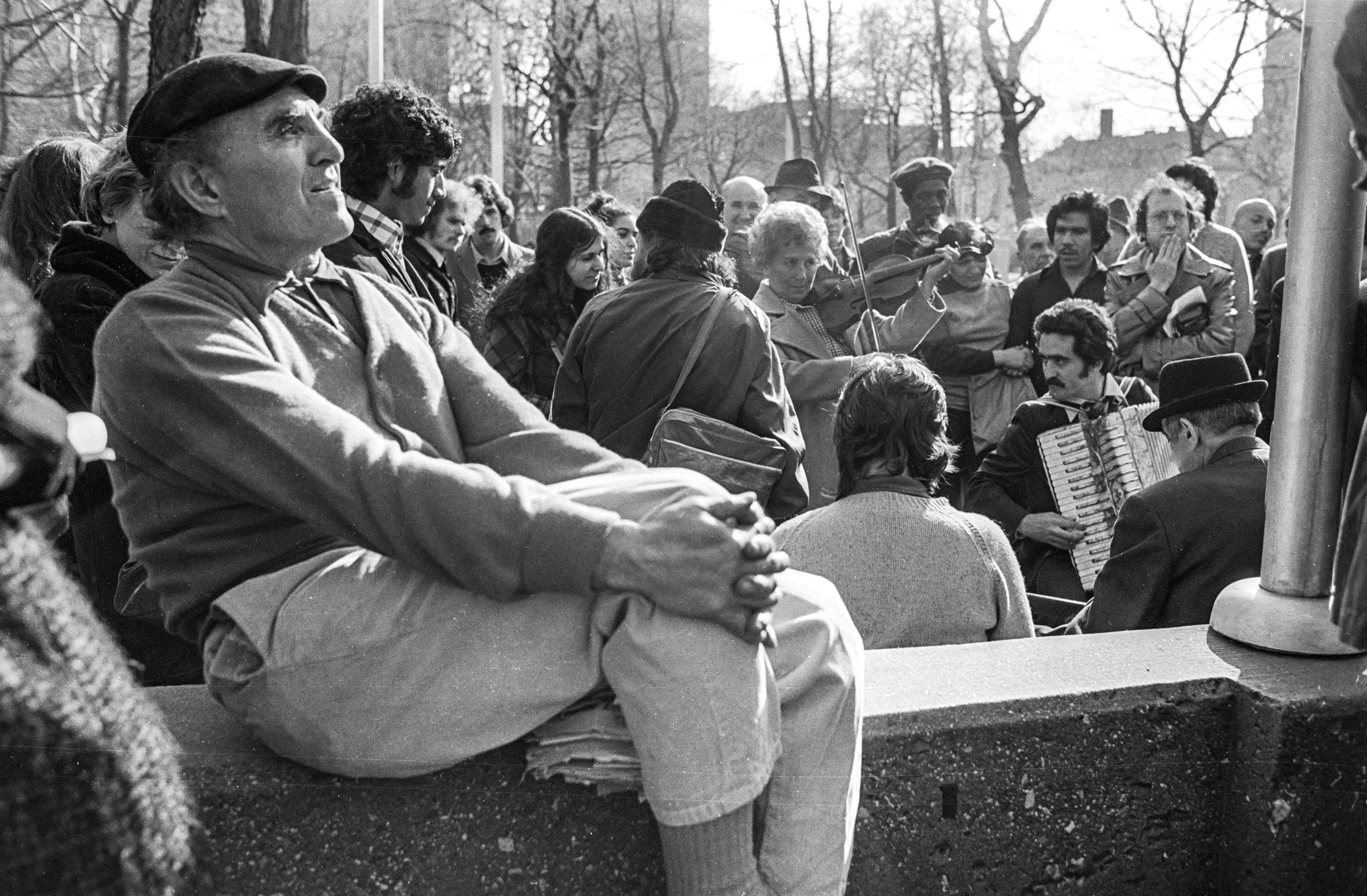 Washington Square Park, 1975