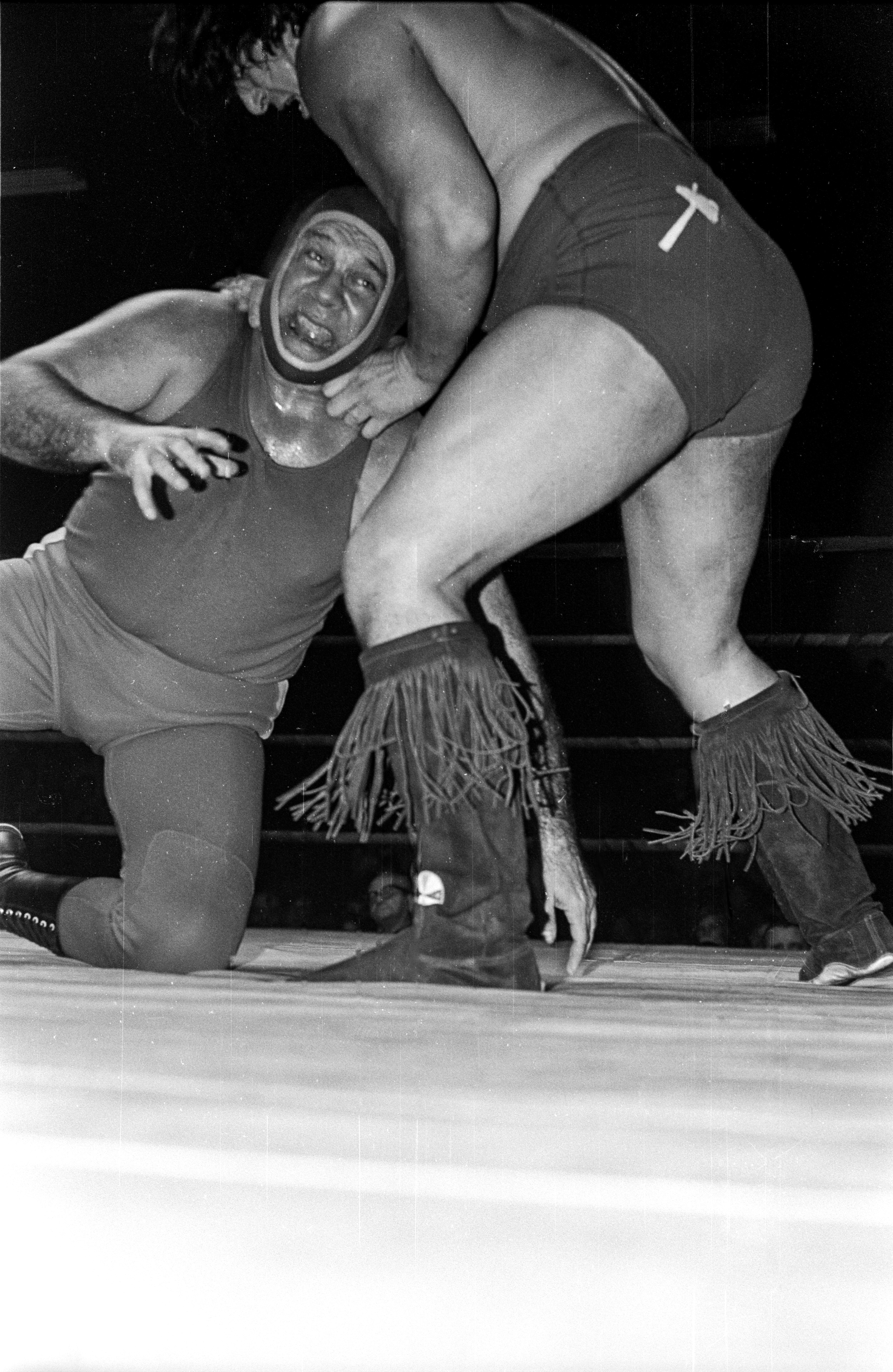 Chief Jay Strongbow and Victor Rivera vs The Russians