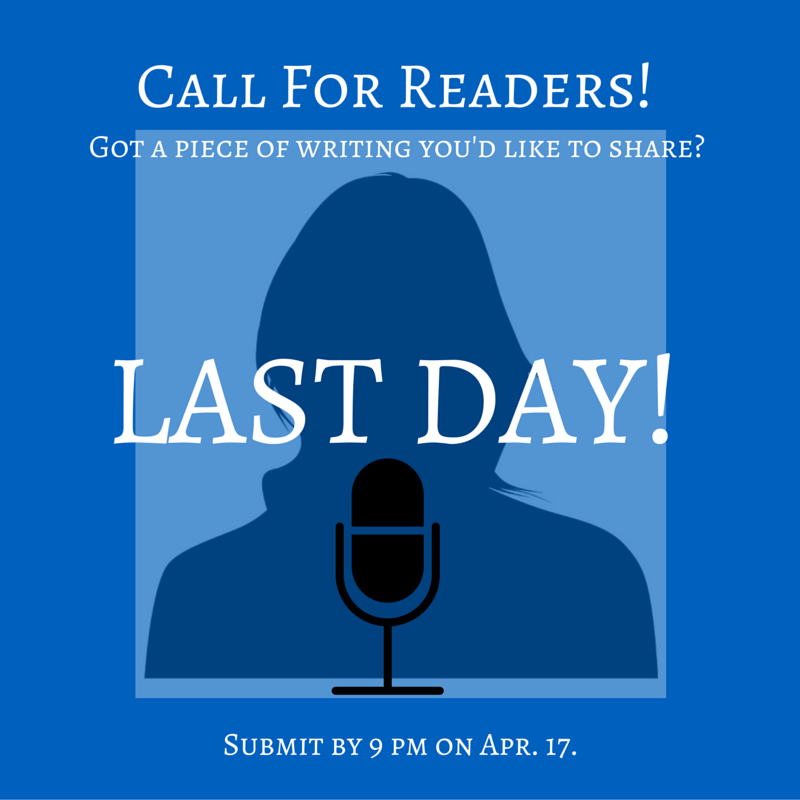 This is the last day to submit to AmpLit Fest's  Emerging Writers Showcase !   Send us 6 pages of your best poetry or prose!