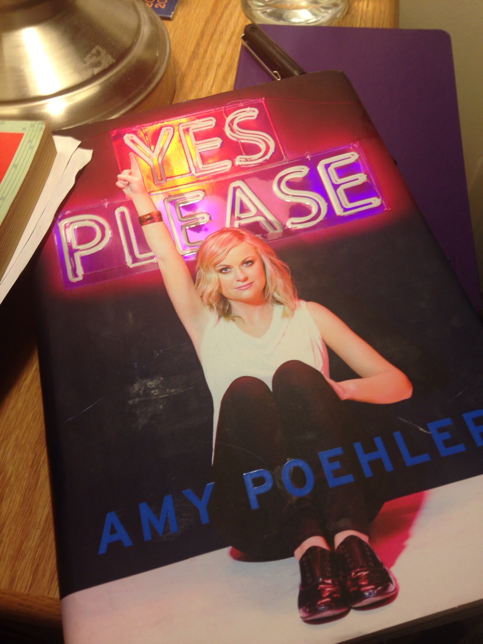 Amy Poehler's book is so good not because you can't put it down, but because it inspires you to put it down and get back to your own writing.