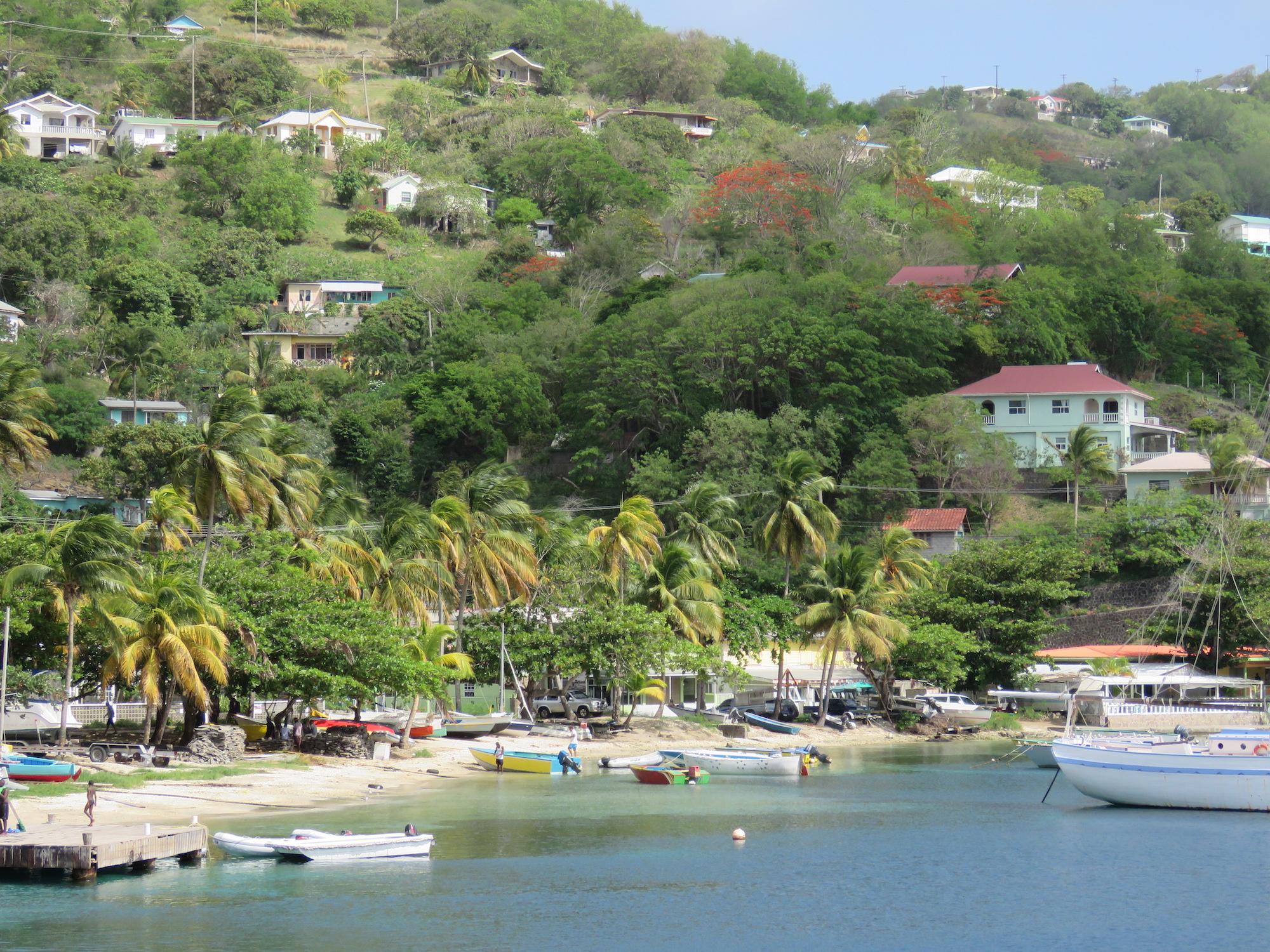 Admiralty Harbor, Bequia Island