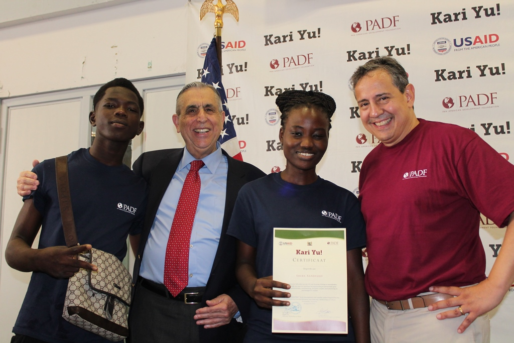 A program of USAID and PADF, Kari Yu! provides at-risk youth with skills and job opportunities.