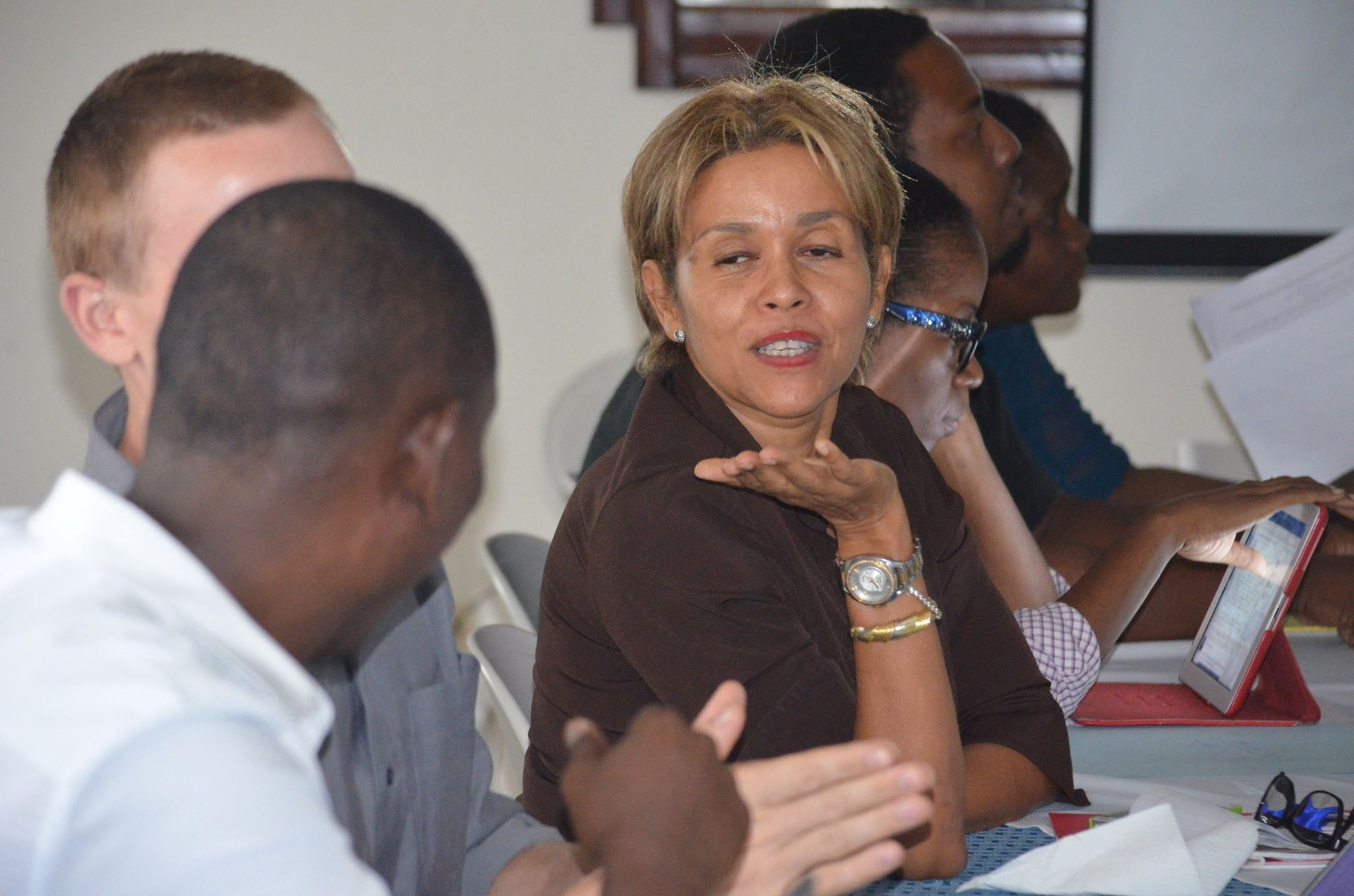 Entrepreneur Marie Carmelle attended the training