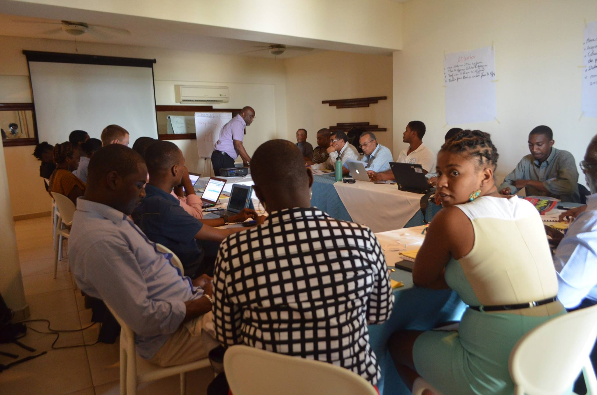 The training took place at the Hotel Montana in Port-au-Prince.