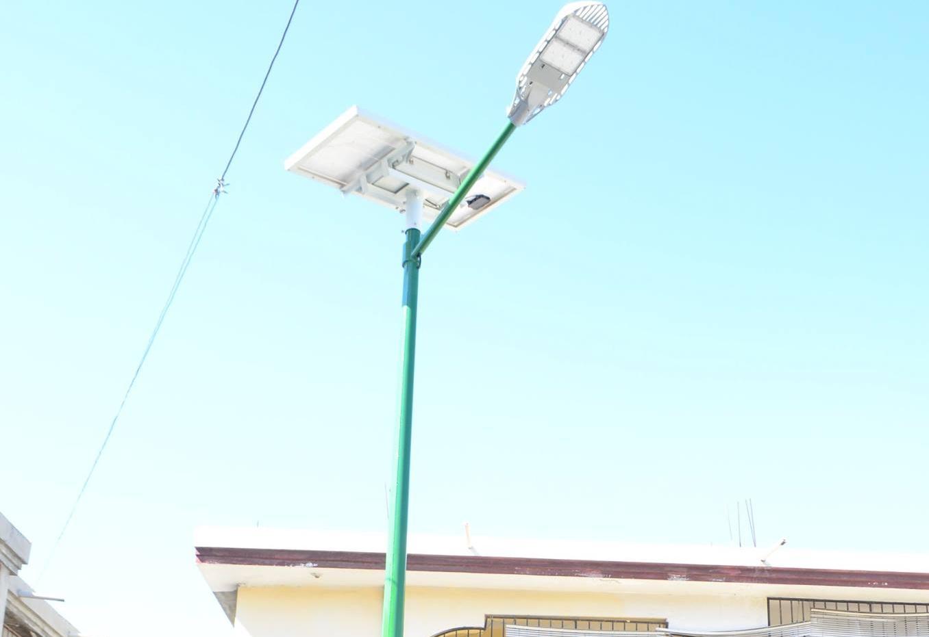 Solar-powered Street Lights