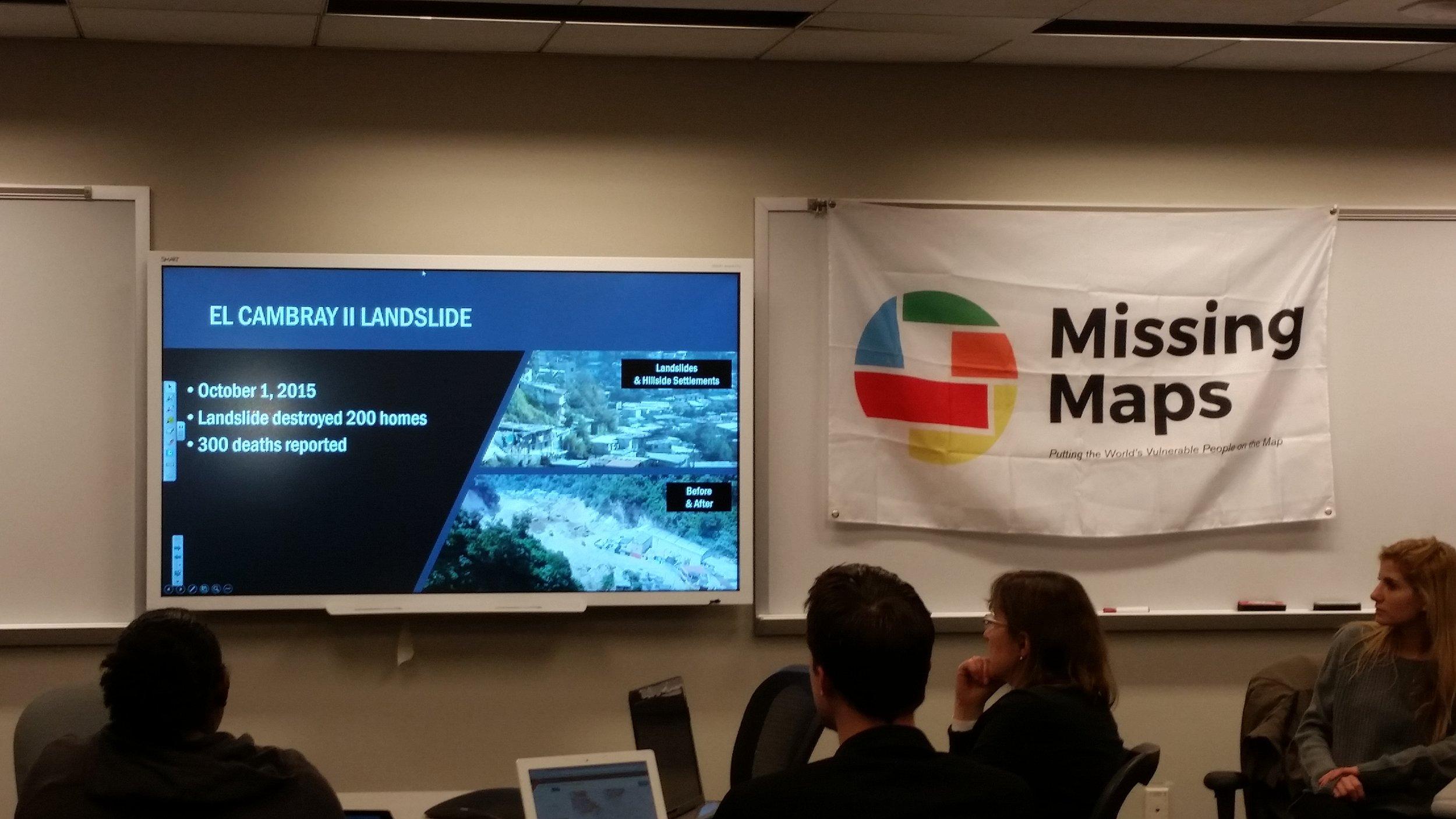 Mapathon at George Washington University