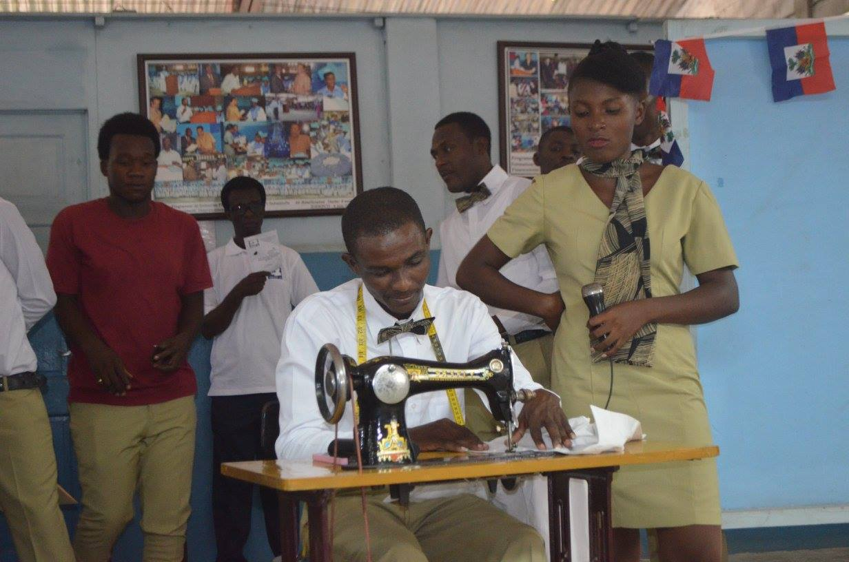 207 young Haitians received technical job training in a variety of fields.