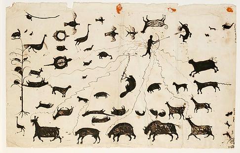 Attributed to Wacochachi (Native American, Meskwaki, Iowa, active 1820–50)