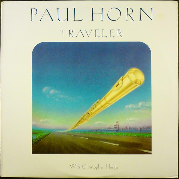 The original record cover for Traveler - 1987