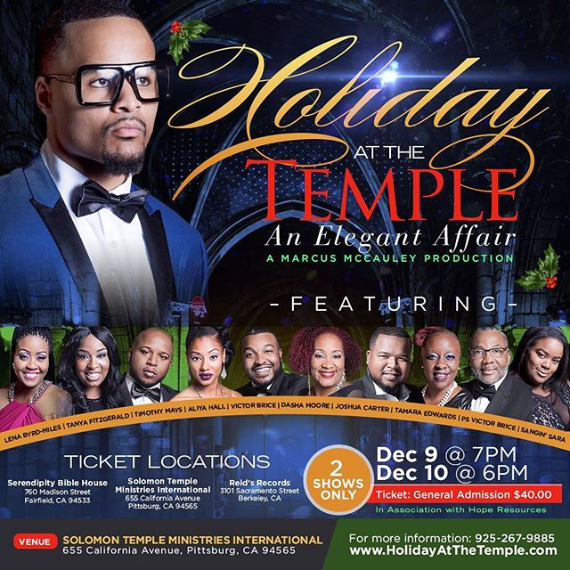 #HolidayAtTheTemple Get your tickets today!