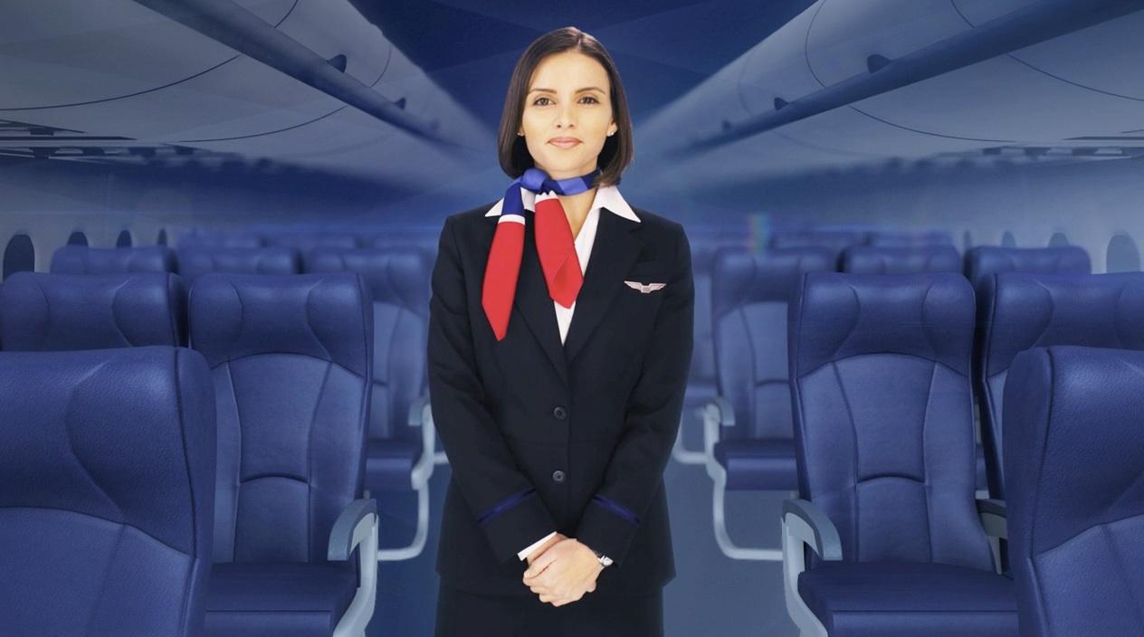US AIRWAYS IN FLIGHT SAFETY VIDEO