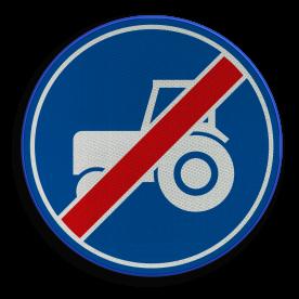 F12 -Einde passeerstrook langzaam verkeer