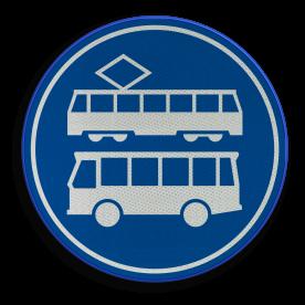 F17 - Rijbaan of -strook bus en tramWrite here...