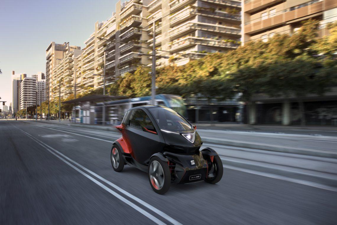 Seat Minimo , voorbeeld van micromobiliteit