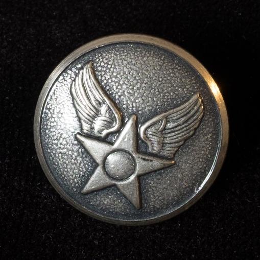 A button from Melcher's Air Force Uniform