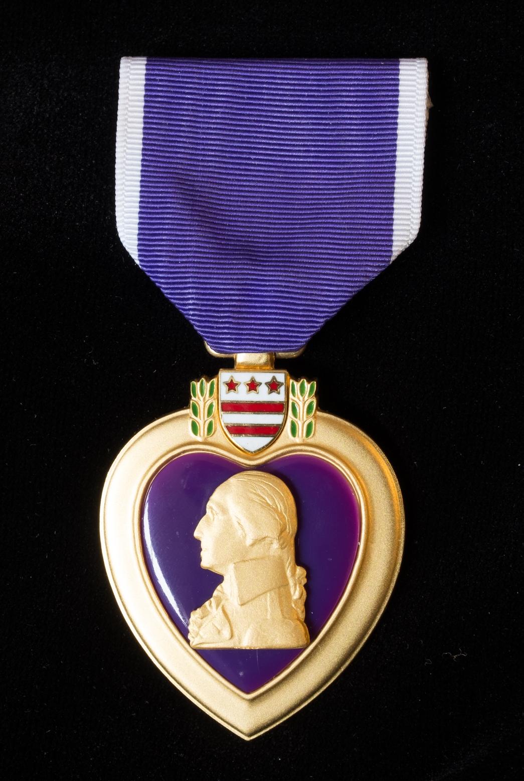 Tanne's Purple Heart Medal