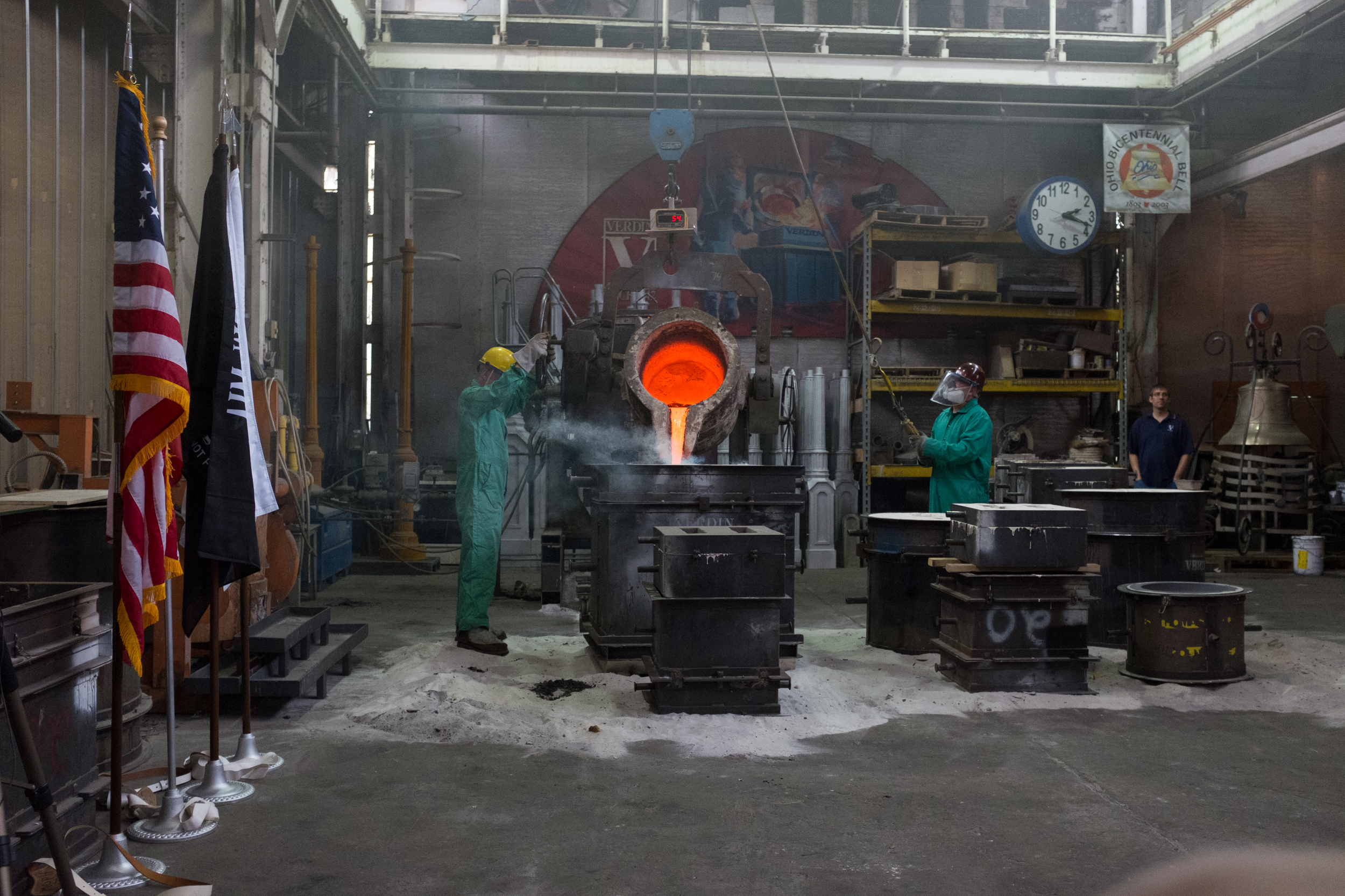 The Forging of The Honor Bell