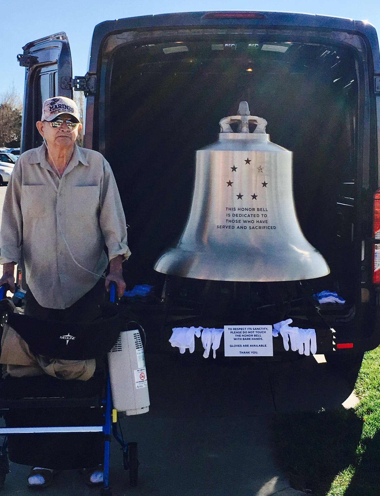 Bill Hempel and the Honor Bell