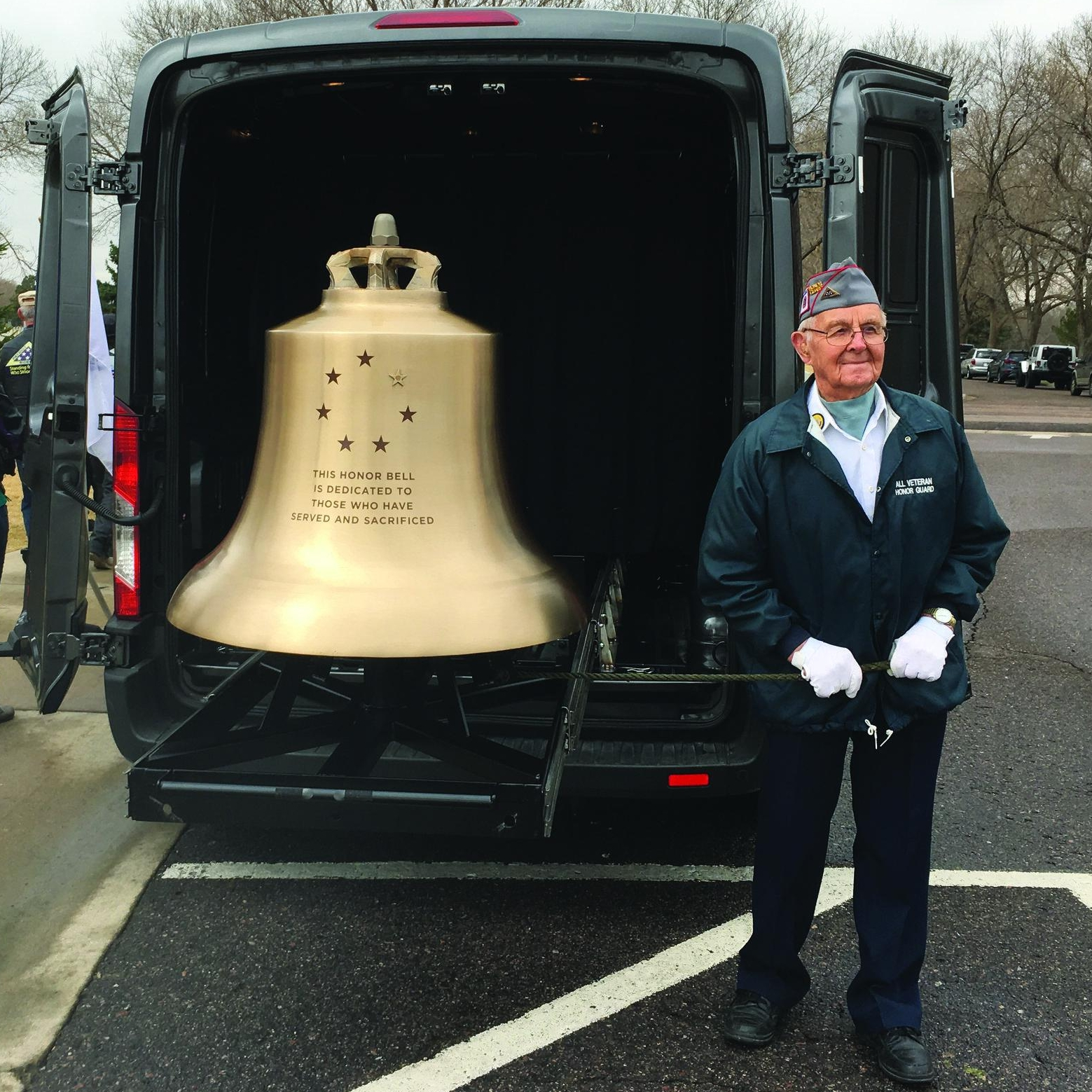 Your donation will keep the Honor Bell tolling for our veterans