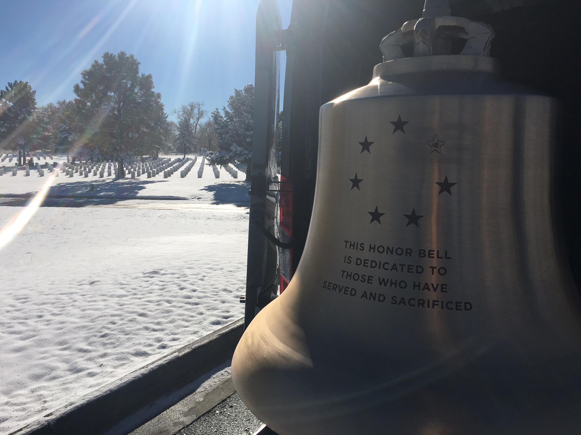 Honor Bell at Ft Logan Winter 2016.JPG