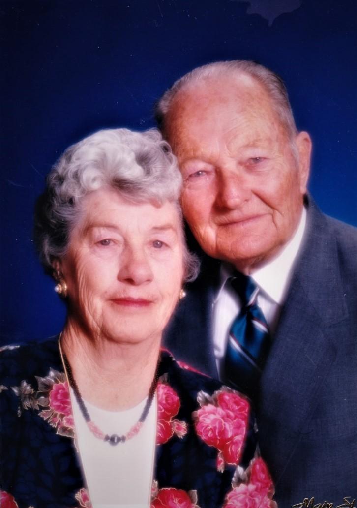 The McKinleys at their 50th wedding anniversary