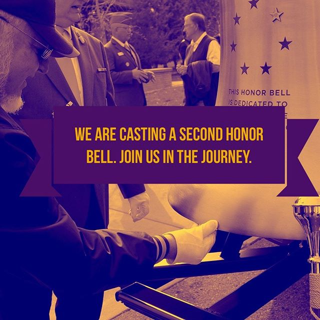 Did you hear? We are expanding the Honor Bell program to include the Colorado Springs area! We are excited to get started, and we want you to join us on the journey to cast Honor Bell #2. See the link in our bio to find out more!